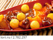 Купить «Мясо с овощами. Японская кухня», фото № 2782297, снято 28 апреля 2011 г. (c) Александр Fanfo / Фотобанк Лори