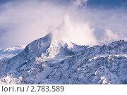 Купить «Горы в облаках», фото № 2783589, снято 4 марта 2011 г. (c) Виталий Романович / Фотобанк Лори