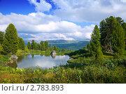 Купить «Горный пейзаж, Алтай», фото № 2783893, снято 18 июля 2011 г. (c) Яков Филимонов / Фотобанк Лори