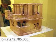 Купить «Глиняная модель минойского дома. Археологический музей, Ираклион. Греция, Крит», эксклюзивное фото № 2785005, снято 17 августа 2010 г. (c) Щеголева Ольга / Фотобанк Лори