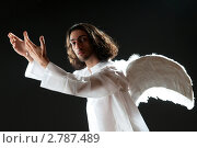 Купить «Мужчина в образе ангела», фото № 2787489, снято 15 июня 2011 г. (c) Elnur / Фотобанк Лори