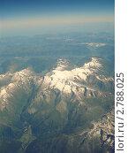 Альпы. Вид из самолета. Стоковое фото, фотограф Дарья Безденежных / Фотобанк Лори