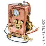 Купить «Телефон в стиле стимпанк», фото № 2788637, снято 9 сентября 2011 г. (c) Валерий Александрович / Фотобанк Лори