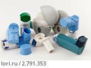 Ингаляторы для лечения астмы. Стоковое фото, фотограф Marina Appel / Фотобанк Лори