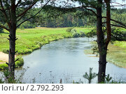 Купить «Река Угра», эксклюзивное фото № 2792293, снято 29 июля 2011 г. (c) Сергей Лаврентьев / Фотобанк Лори