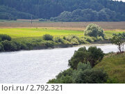 Река Угра. Стоковое фото, фотограф Сергей Лаврентьев / Фотобанк Лори