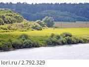Купить «Река Угра», эксклюзивное фото № 2792329, снято 29 июля 2011 г. (c) Сергей Лаврентьев / Фотобанк Лори