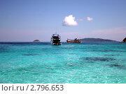 Симиланский архипелаг в Таиланде (2011 год). Стоковое фото, фотограф Oksana Oleneva / Фотобанк Лори