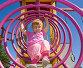 Ребенок на аттракционе, фото № 2797481, снято 27 августа 2011 г. (c) Олег Хархан / Фотобанк Лори