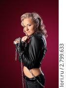 Купить «Портрет молодой блондинки», фото № 2799633, снято 15 декабря 2018 г. (c) Гурьянов Андрей / Фотобанк Лори