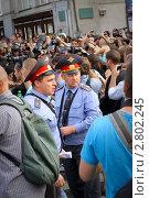 31 августа Марш несогласных (2011 год). Редакционное фото, фотограф Krasnoperov Rostislav / Фотобанк Лори