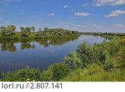 Купить «Река Угра», эксклюзивное фото № 2807141, снято 11 июля 2011 г. (c) Елена Коромыслова / Фотобанк Лори