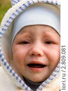 Купить «Плачущий малыш», фото № 2809081, снято 18 сентября 2011 г. (c) Katerina Anpilogova / Фотобанк Лори