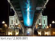 Патриарший мост через Москва-реку. Вид снизу. (2011 год). Редакционное фото, фотограф Марков Николай / Фотобанк Лори