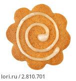 Купить «Имбирное печенье на белом фоне», фото № 2810701, снято 14 сентября 2011 г. (c) Наталья Бидюкова / Фотобанк Лори