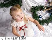 Портрет девочки. Стоковое фото, фотограф Евгения Шийка / Фотобанк Лори