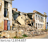 Купить «Последствия землетрясения», фото № 2814657, снято 13 августа 2010 г. (c) Art Konovalov / Фотобанк Лори