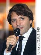 Купить «Николай Усков, журналист», фото № 2821149, снято 11 сентября 2011 г. (c) Владимир Ременец / Фотобанк Лори