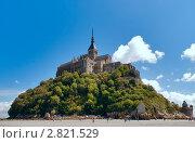 Купить «Гора Сен-Мишель, Нормандия, Франция», фото № 2821529, снято 9 августа 2011 г. (c) Михаил Никитин / Фотобанк Лори