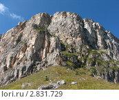Скала на Кавказе. Стоковое фото, фотограф Дмитрий Редин / Фотобанк Лори