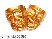 Купить «Две театральные маски», фото № 2836593, снято 6 мая 2011 г. (c) Elnur / Фотобанк Лори