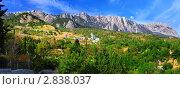Южная часть Крымского полуострова, ландшафт горы Ай-Петри . Украина. (2011 год). Стоковое фото, фотограф Vitas / Фотобанк Лори