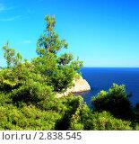 Купить «Южная часть Крымского полуострова, морской пейзаж . Украина.», фото № 2838545, снято 13 сентября 2011 г. (c) Vitas / Фотобанк Лори