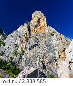 Купить «Южная часть Крымского полуострова, горный пейзаж . Украина.», фото № 2838585, снято 12 сентября 2011 г. (c) Vitas / Фотобанк Лори