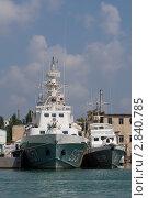 Корабли береговой охраны Украины (2011 год). Редакционное фото, фотограф Давыдов Юрий / Фотобанк Лори
