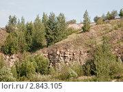 Купить «Холмистый пейзаж», фото № 2843105, снято 13 августа 2011 г. (c) Руслан Якубов / Фотобанк Лори