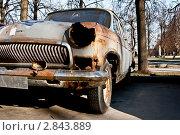 Купить «Разбитая машина», фото № 2843889, снято 24 апреля 2011 г. (c) Руслан Якубов / Фотобанк Лори