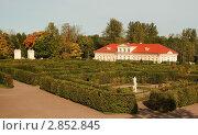 Картинный дом в Ораниенбауме (2011 год). Редакционное фото, фотограф Татьяна Игнатьева / Фотобанк Лори