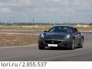 Спортивный автомобиль, участвующий в гонке Суперкаров (2011 год). Редакционное фото, фотограф Литвяк Игорь / Фотобанк Лори