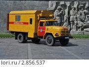 Купить «Аварийная машина», фото № 2856537, снято 4 июня 2011 г. (c) Евгений Кузнецов / Фотобанк Лори