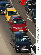 Купить «Транспорт. Вид сверху», эксклюзивное фото № 2862857, снято 6 сентября 2011 г. (c) lana1501 / Фотобанк Лори
