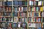 Библиотека, полки с книгами, фото № 2864029, снято 8 марта 2017 г. (c) Losevsky Pavel / Фотобанк Лори