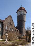 Купить «Светлогорск. Лечебный корпус военного санатория», эксклюзивное фото № 2874905, снято 3 апреля 2011 г. (c) Svet / Фотобанк Лори