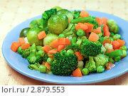 Купить «Отварные овощи», фото № 2879553, снято 3 августа 2011 г. (c) ElenArt / Фотобанк Лори