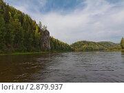 Горная река Вишера. Стоковое фото, фотограф Павел Спирин / Фотобанк Лори
