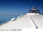 Купить «Фрагмент морского судна», фото № 2882381, снято 21 мая 2010 г. (c) Losevsky Pavel / Фотобанк Лори
