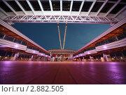 Купить «Палуба ланера Коста Делизиоса. Новейший круизный лайнер в Персидском заливе», фото № 2882505, снято 14 апреля 2010 г. (c) Losevsky Pavel / Фотобанк Лори