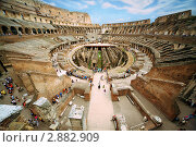 Купить «Колизей, Рим,Италия», фото № 2882909, снято 5 августа 2010 г. (c) Losevsky Pavel / Фотобанк Лори