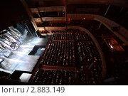 Купить «Аудитория на балконе и в зале Московского театра оперетты», фото № 2883149, снято 7 марта 2010 г. (c) Losevsky Pavel / Фотобанк Лори