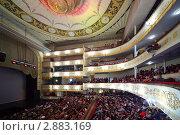 Купить «Московский театр оперетты», фото № 2883169, снято 7 марта 2010 г. (c) Losevsky Pavel / Фотобанк Лори