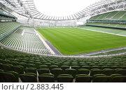 Купить «Футбольный стадион», фото № 2883445, снято 10 июня 2010 г. (c) Losevsky Pavel / Фотобанк Лори