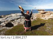 Купить «Северный шаман», фото № 2884217, снято 1 августа 2011 г. (c) Николай Гернет / Фотобанк Лори