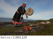 Купить «Северный шаман», фото № 2884229, снято 1 августа 2011 г. (c) Николай Гернет / Фотобанк Лори