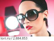 Купить «Молодая девушка в студии», фото № 2884853, снято 23 декабря 2010 г. (c) Elnur / Фотобанк Лори