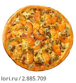Пицца песто. Стоковое фото, фотограф Сергей Матвеев / Фотобанк Лори