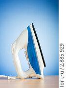 Купить «Современный электрический утюг», фото № 2885929, снято 1 августа 2010 г. (c) Elnur / Фотобанк Лори